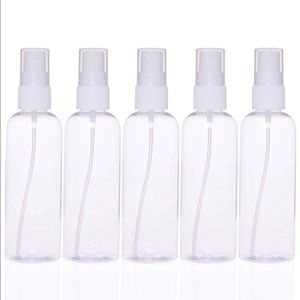 Clear Spray Bottles  5-Pack nwt